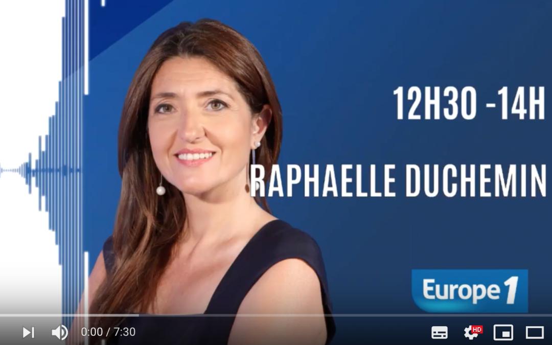 INTERVIEW EUROPE 1 – GEO-PSY, UN PSYCHOLOGUE CHEZ VOUS EN 1 HEURE