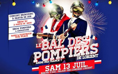 Geo-Psy : partenaire du bal des pompiers de Lorient