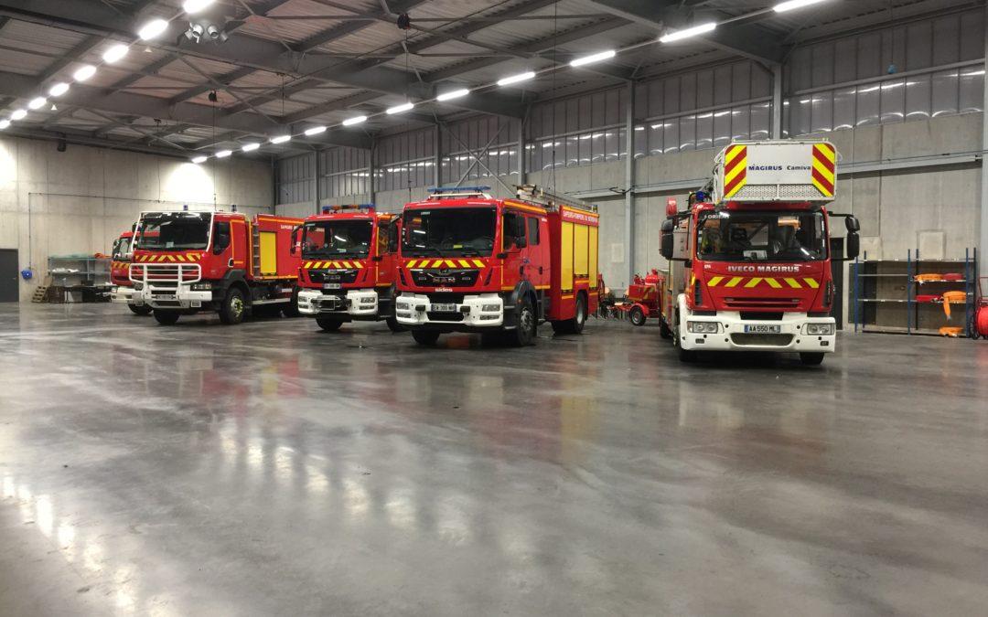 Geo-Psy supporte les sapeurs-pompiers de Lorient !